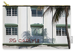 The Carlyle Hotel 2. Miami. Fl. Usa Carry-all Pouch