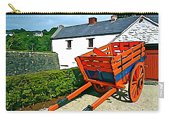 Carry-all Pouch featuring the photograph The Cart by Charlie and Norma Brock