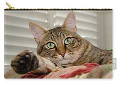 The Cat With Green Eyes Carry-all Pouch