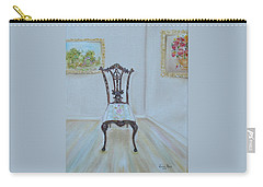The Chair Carry-all Pouch by Judith Rhue
