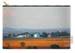 Carry-all Pouch featuring the photograph The Countryside by Davandra Cribbie