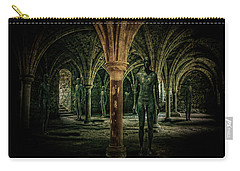 Carry-all Pouch featuring the photograph The Crypt by Chris Lord