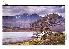 Carry-all Pouch featuring the photograph The Cuillins Skye by Joe Macrae