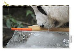 Carry-all Pouch featuring the photograph The Curiosity Of Orange #1 by Nola Lee Kelsey