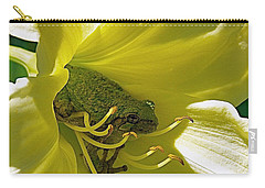 The Day Lily Met Her Prince Carry-all Pouch by Sue Stefanowicz
