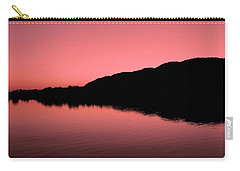 Carry-all Pouch featuring the photograph The End Of The Day ... by Juergen Weiss