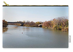 Carry-all Pouch featuring the photograph The Erie Canal Crossing The Genesee River by William Norton