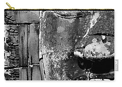 Carry-all Pouch featuring the photograph The Face Of Angkor by Nola Lee Kelsey