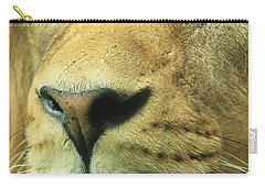 The Face Of God Carry-all Pouch by Laddie Halupa
