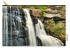 Carry-all Pouch featuring the photograph The Face Of The Falls by Mark Dodd