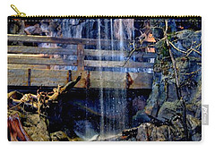 Carry-all Pouch featuring the photograph The Falls by Deena Stoddard