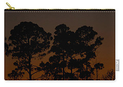 Carry-all Pouch featuring the photograph The Fingernail Moon by Dan Wells