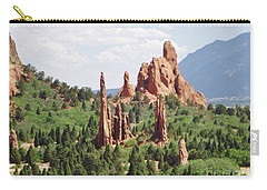 The Garden Of The Gods Carry-all Pouch