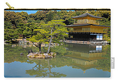 The Golden Pavilion Carry-all Pouch by Jonah  Anderson