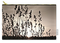 The Grass At Sunset Carry-all Pouch
