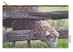 Carry-all Pouch featuring the photograph The Grass...on The Other Side by Lydia Holly