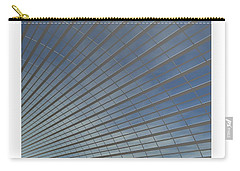 Carry-all Pouch featuring the digital art The Hangar... by Tim Fillingim