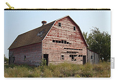 Carry-all Pouch featuring the photograph The Hole Barn by Bonfire Photography