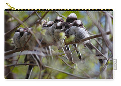 Carry-all Pouch featuring the photograph The Huddle by Gavin Macrae