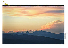 Carry-all Pouch featuring the photograph The Idaho Selkirks by Albert Seger