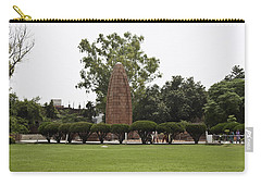 Carry-all Pouch featuring the photograph The Jallianwala Bagh Memorial In Amritsar by Ashish Agarwal