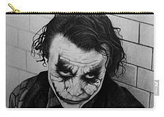 The Joker Carry-all Pouch by Carlos Velasquez Art