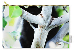 Carry-all Pouch featuring the photograph The Little Huntress by Jessica Shelton