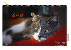 Carry-all Pouch featuring the photograph The Look Of Love by Vicki Ferrari