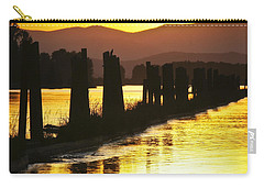 Carry-all Pouch featuring the photograph The Lost River Of Gold by Albert Seger