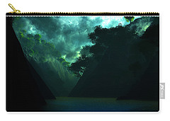 Carry-all Pouch featuring the digital art The Majesty... by Tim Fillingim