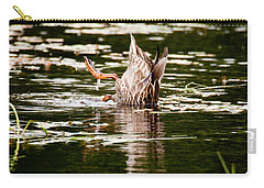 The Meaning Of Duck Carry-all Pouch by Brent L Ander