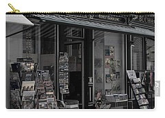 The Old Bookstore Carry-all Pouch by Mary Machare
