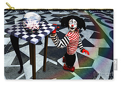 Carry-all Pouch featuring the digital art The Puppet Freedom by Rosa Cobos