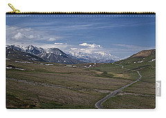 The Road To The Great One Carry-all Pouch by Wes and Dotty Weber