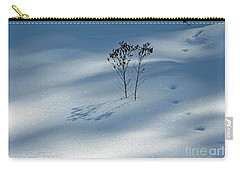 Carry-all Pouch featuring the photograph The Shadow Of Loneliness by Ausra Huntington nee Paulauskaite