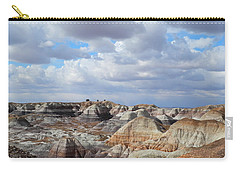 The Sky Clears By Blue Mesa Carry-all Pouch by Lynda Lehmann
