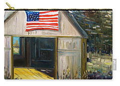 Carry-all Pouch featuring the painting The Studio by John Williams