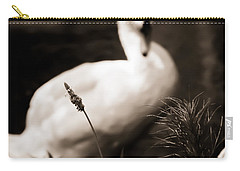 The Swan Carry-all Pouch by Jessica Brawley