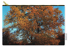 The Tree Of Life Carry-all Pouch by Davandra Cribbie