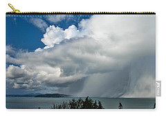 Carry-all Pouch featuring the photograph The Wall by David Gleeson