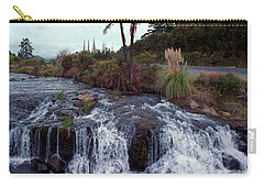 The Waterfall In The Stream Carry-all Pouch
