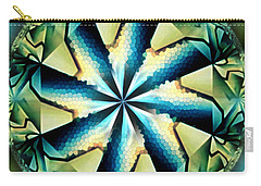 The Waves Of Silk Carry-all Pouch by Danuta Bennett