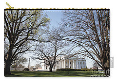The White House And Lawns Carry-all Pouch
