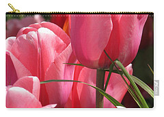 Carry-all Pouch featuring the photograph There Is Pink In Heaven by Rory Sagner