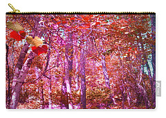 Carry-all Pouch featuring the photograph Thicket In Color by George Pedro