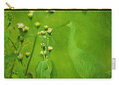 Think Green Carry-all Pouch by Vicki Pelham