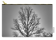 Through The Boughs Bw Carry-all Pouch by Dan Stone