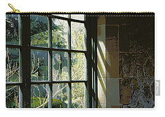 Carry-all Pouch featuring the photograph View Through The Window by Marilyn Wilson