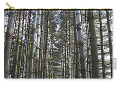 Carry-all Pouch featuring the photograph Through The Woods by Jeannette Hunt