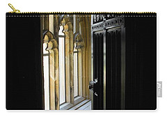 Carry-all Pouch featuring the photograph Thru The Chapel Door by Cindy Manero